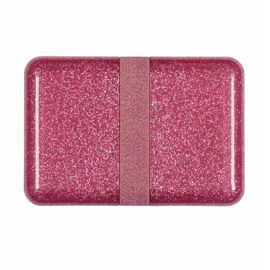 Lunch box Glitter pink / A Little Lovely Company