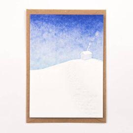 Postkaart Winter house / Studio Flash