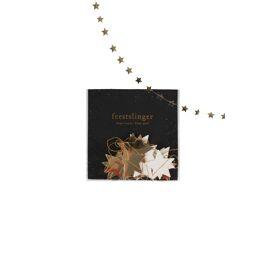 Feestslinger ster goud 225 cm / Zusss