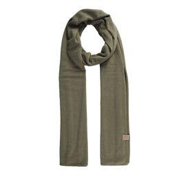 Fijngebreide zachte sjaal Zusss / groen