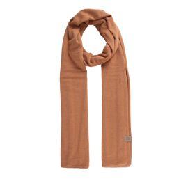 Fijngebreide zachte sjaal Zusss / honing