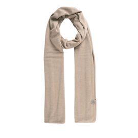 Fijngebreide zachte sjaal Zusss / zand