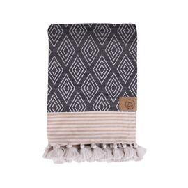 Hamman handdoek met kwastjes / Zusss