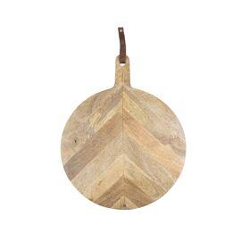 Houten serveerplank rond 40 cm / Zusss