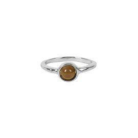 Ring met steentje Zusss / zilver