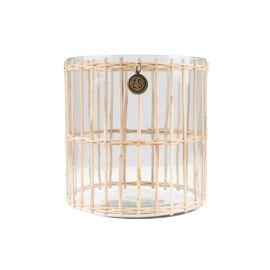 Windlicht bamboe M / Zusss