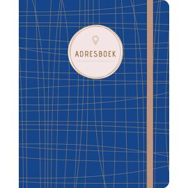 Adresboek Dark blue / Paperstore