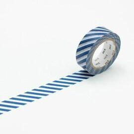 Masking tape - stripe marine blue