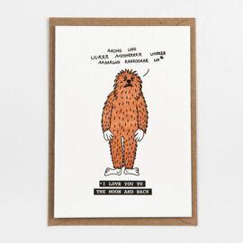 Postkaart Chewbacca / Studio Flash
