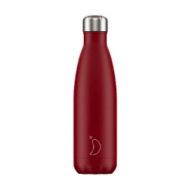 Chilly's drinkfles Red matte 500 ml