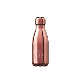 Chilly's drinkfles Rose gold 260 ml