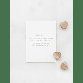 Postkaart Dankjewel Juf / Gewoon Jip