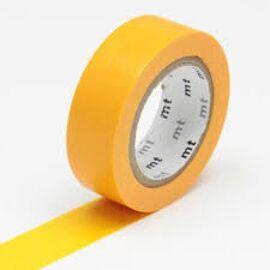Masking tape - shocking orange