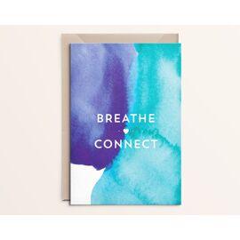 Wenskaart Breathe - connect / Kathings