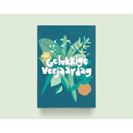 Wenskaart Gelukkige verjaardag / Kathings