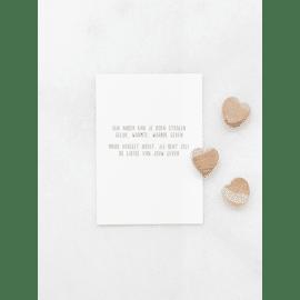 Postkaart Een ander kan je doen stralen / Gewoon Jip