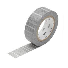 Masking tape - script border monochrome
