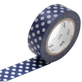 Masking tape - dot blue base