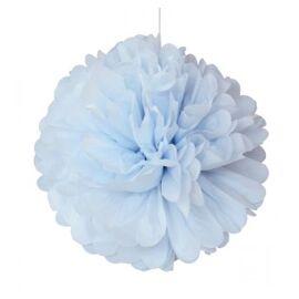 Pom pom blauw 30 cm