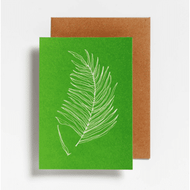 Postkaart Fern / Hello August