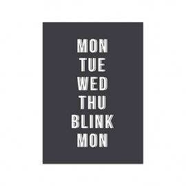 Postkaart Blink