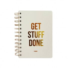 Planner Get stuff done - off white