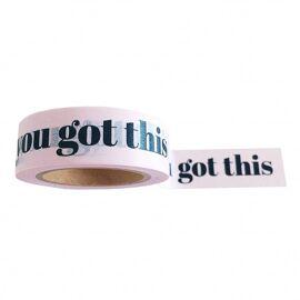 Washi tape You got this