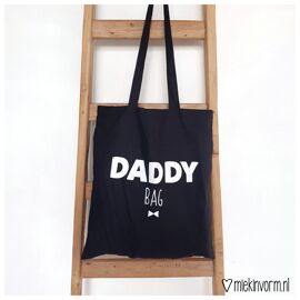 Totebag Daddy bag / Miek in vorm
