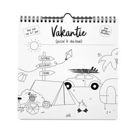Vakantie puzzel en doe-boek / Zoedt