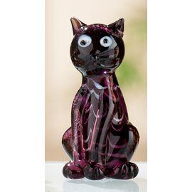 Kat zittend glas 4 designs