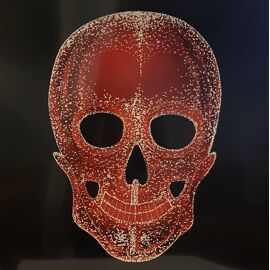Skull Red ingelijst