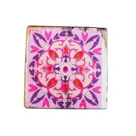Dutch Mood Coaster Pink (4x)