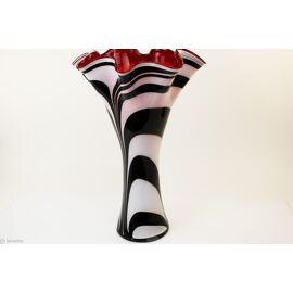 Vaas Zebra waaier groot 60cm