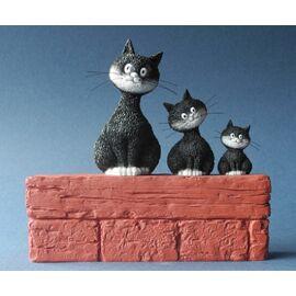 Le trio / Threesome h.14cm