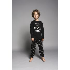Pyjama Tough kids never sleep & dogprint
