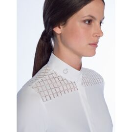 Cavalleria Toscana Crochet + Jersey Competition L/S Shirt