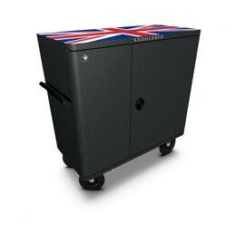 Saddlebox Double Custom Carbon UK