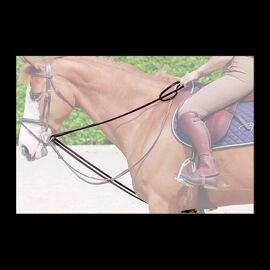 Dy'on Leather Draw Reins 16Mm