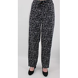 BROEK BENGALINE ABSTRACT ZWWIT