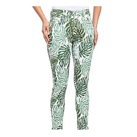 SKINNY JEANS GREEN PALM