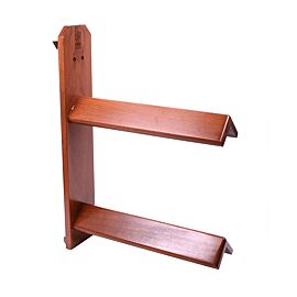 One Saddle Rack Wood