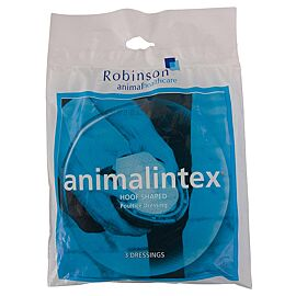 Animalintex Hoof Shaped Robinson Ass 3Stuks