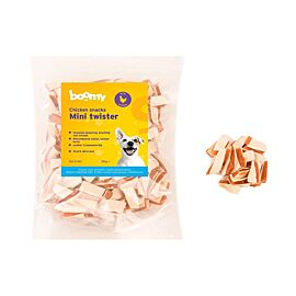Boomy Hondensnacks Chicken Snacks Mini Twister | 250 gr