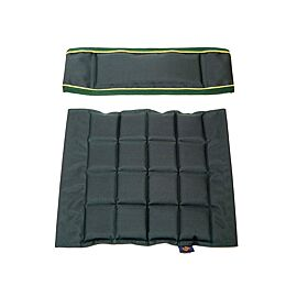 ONE Seat & Back met velcro