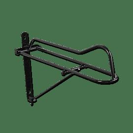 Foldable saddle rack
