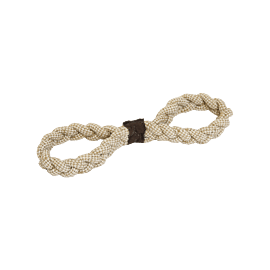 Kentucky dog toy cotton rope 8 loop