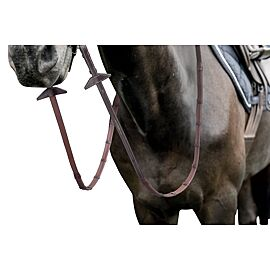 Prestige 22mm Grip Reins with 7 Stoppers And Hooks Stud