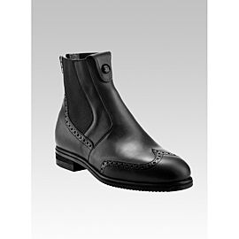 Tucci Short Boots Marilyn with Punched Leather Details