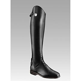 Tucci Galileo Tall Boots with Stitched Toe Cap
