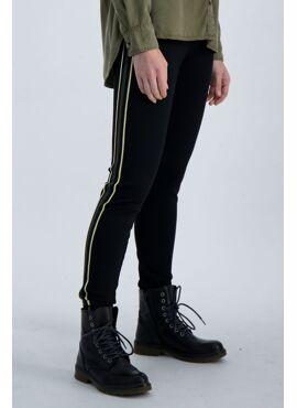 Legging groene streep